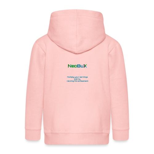 NeoBuX Blue - Kids' Premium Zip Hoodie