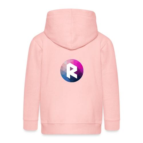 radiant logo - Kids' Premium Zip Hoodie