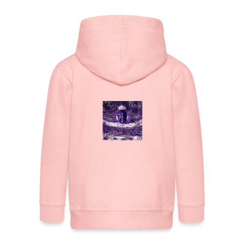 the first sense tape jpg - Kids' Premium Zip Hoodie
