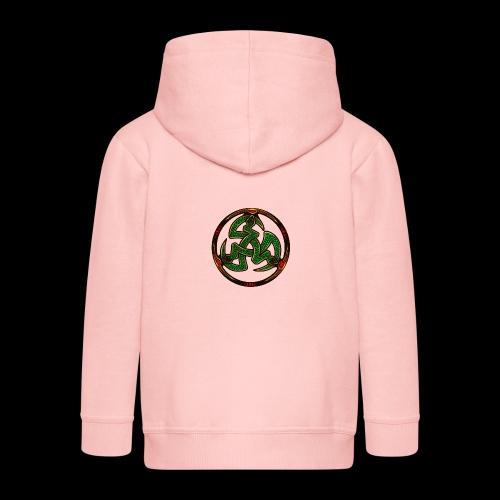Serpent Triskellion - Kids' Premium Hooded Jacket