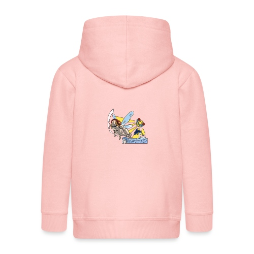 Sunshine buzz - Kinderen Premium jas met capuchon