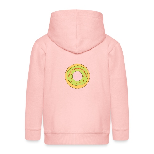 Donut Come For Me Red - Kids' Premium Zip Hoodie