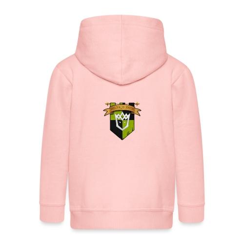 Delta_o_Tech-Banner - Kids' Premium Zip Hoodie