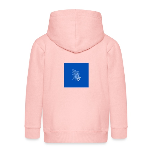 Windy Wings Blue - Kids' Premium Zip Hoodie