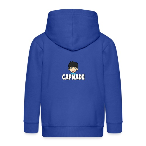 Basic Capnade's Products - Kids' Premium Zip Hoodie