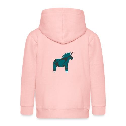Swedish Unicorn - Kinder Premium Kapuzenjacke