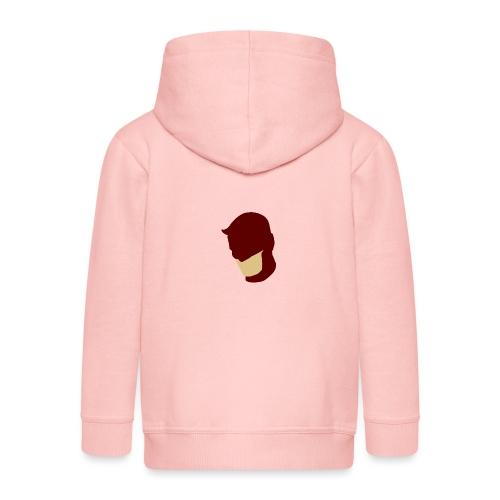 Daredevil Simplistic - Kids' Premium Zip Hoodie