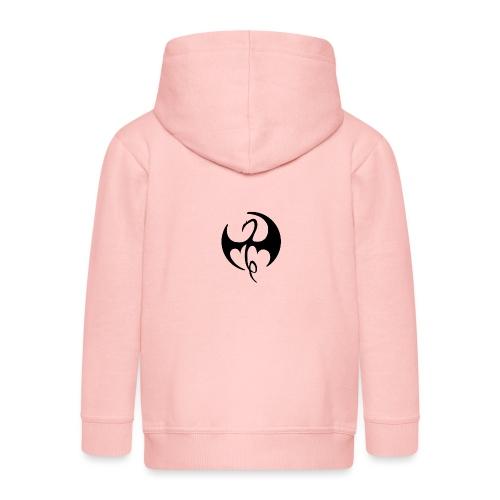 Ironfist Logo - Kids' Premium Zip Hoodie