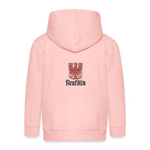 neukoelln_wappen_dark - Kinder Premium Kapuzenjacke