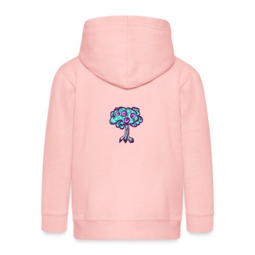 Neon Tree - Kids' Premium Zip Hoodie