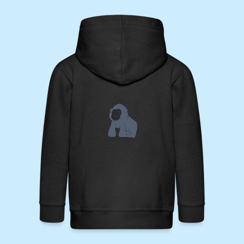 Baby Gorilla - Kids' Premium Zip Hoodie