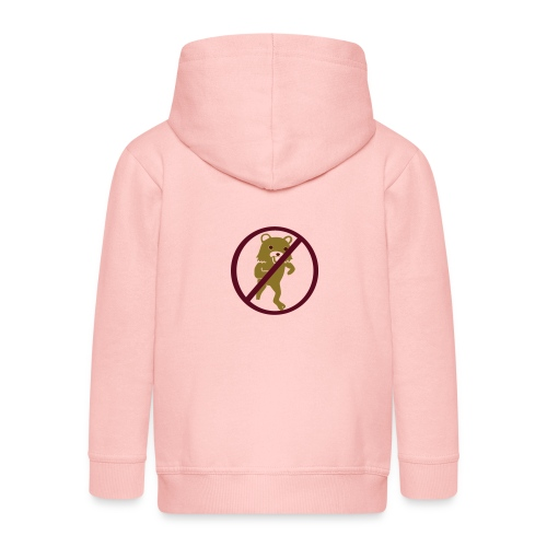 No - Rozpinana bluza dziecięca z kapturem Premium
