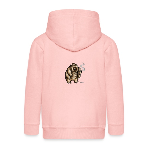 Smokey the Water Bear - Kids' Premium Zip Hoodie
