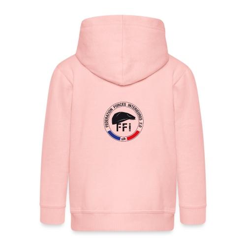 FFi beret NOIR - Veste à capuche Premium Enfant