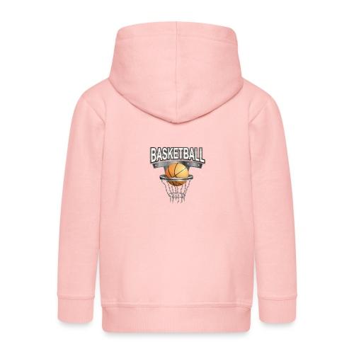 basketball shirt - Kinder Premium Kapuzenjacke