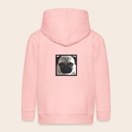 Mops Hund 2 - Kinder Premium Kapuzenjacke
