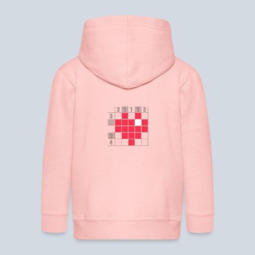 Heart Tshirt Women - Veste à capuche Premium Enfant