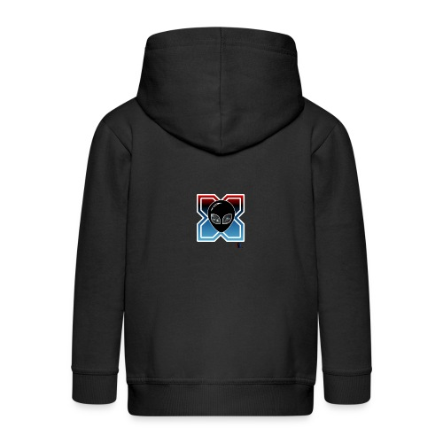 Alien x - Chaqueta con capucha premium niño
