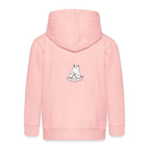 OK Boomer Cat Meme - Kids' Premium Hooded Jacket