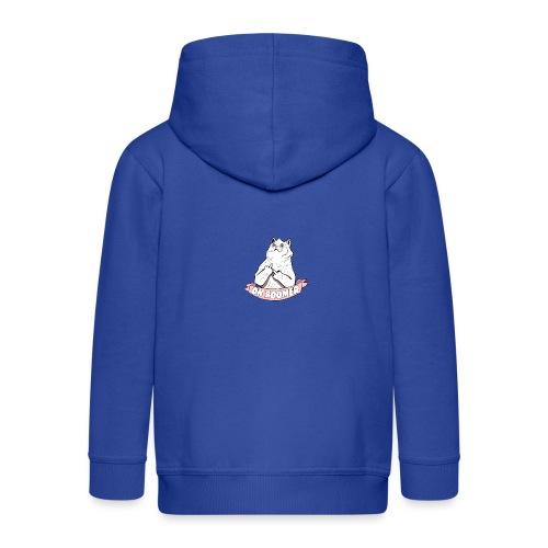 OK Boomer Cat Meme - Kids' Premium Zip Hoodie