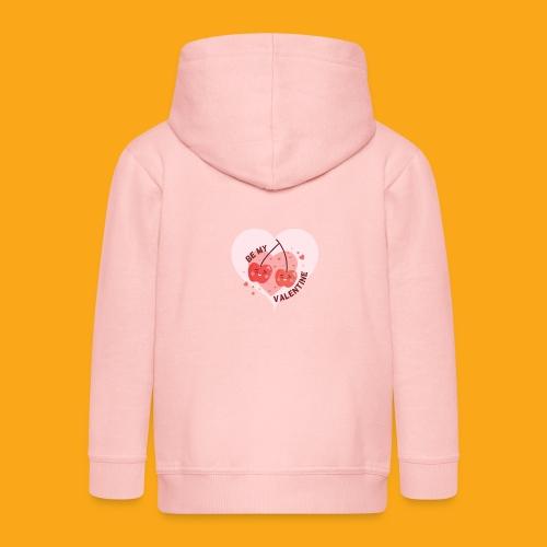 Be my Valentine - Kinder Premium Kapuzenjacke
