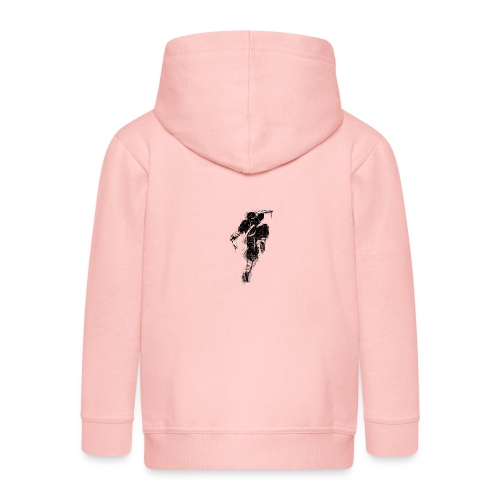 ninja - Felpa con zip Premium per bambini