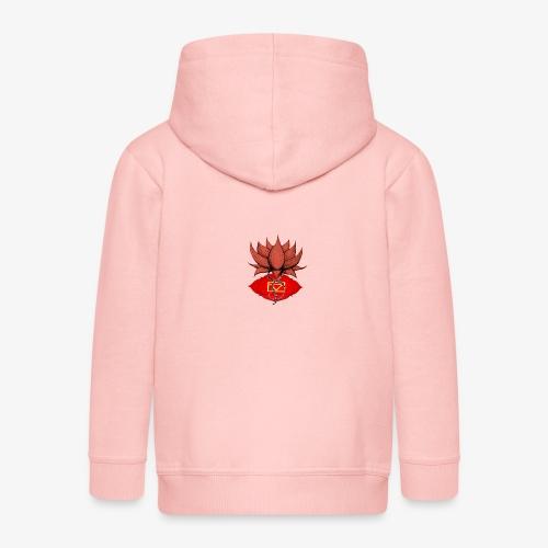 Lotus racine chakra - Veste à capuche Premium Enfant