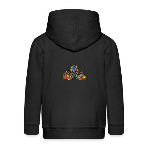 Happy Butterfly! - Kinder Premium Kapuzenjacke