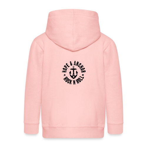 Hope & Anchor - Rock´n´Roll - Kinder Premium Kapuzenjacke