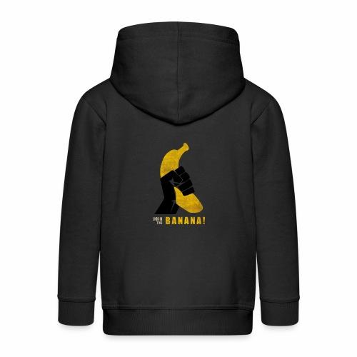 Join the Banana ! Wankil - Veste à capuche Premium Enfant
