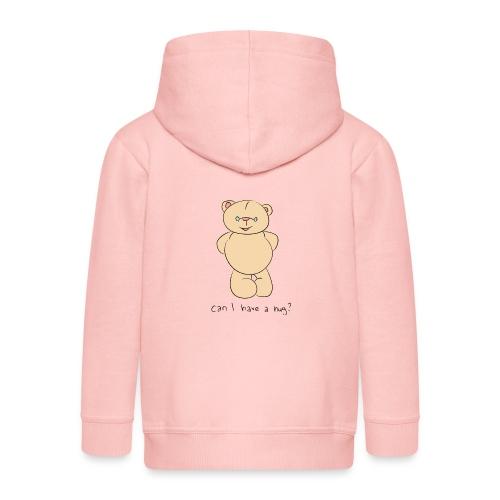 Bear hug - Kids' Premium Zip Hoodie