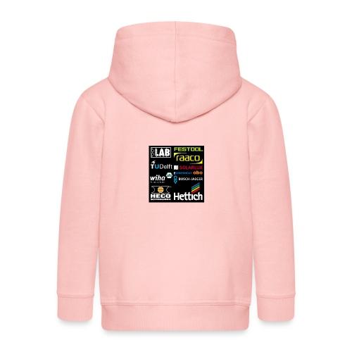 tshirt 2 rueck kopie - Kids' Premium Zip Hoodie