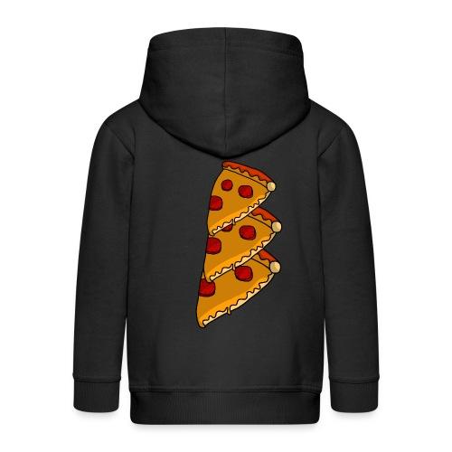 pizza - Premium hættejakke til børn