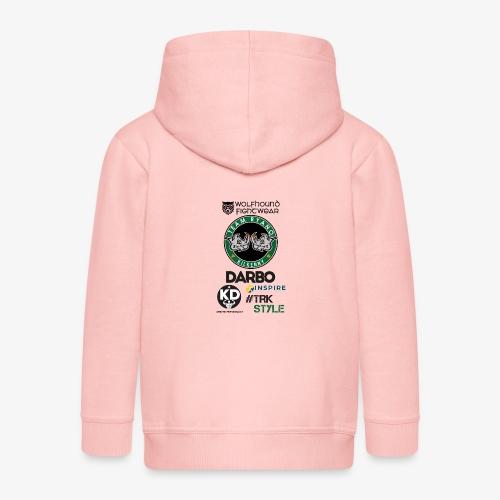 MP back0518 - Kids' Premium Zip Hoodie