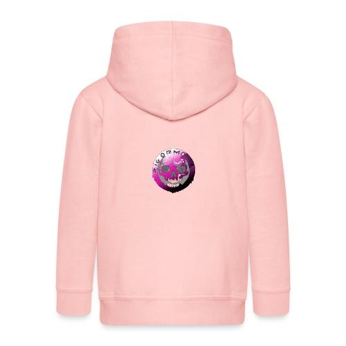 Rigormortiz Purple Design - Kids' Premium Hooded Jacket