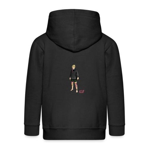 Ringen woman - Kids' Premium Zip Hoodie