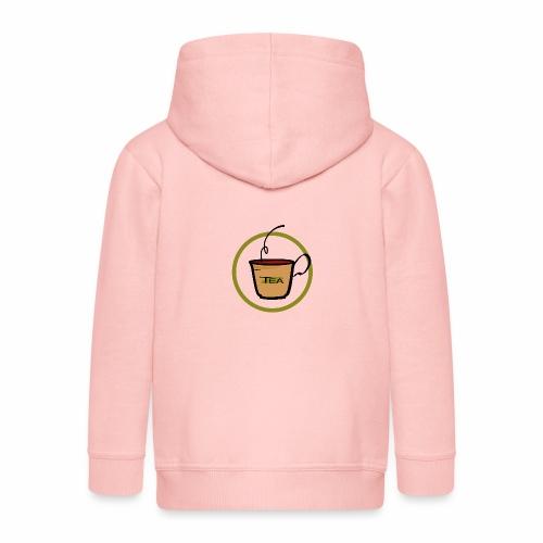 Teeemblem - Kinder Premium Kapuzenjacke
