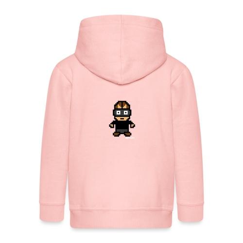 Die Zock Stube - Pixel Patrick - Kinder Premium Kapuzenjacke