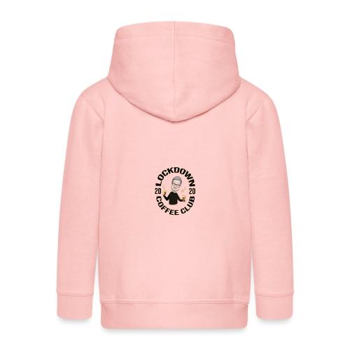 Lockdown Coffee Club 2020 - Kids' Premium Hooded Jacket