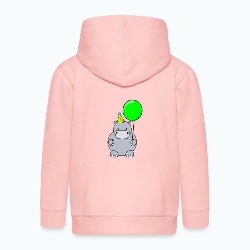 Henri Hippo Party - Appelsin - Premium-Luvjacka barn