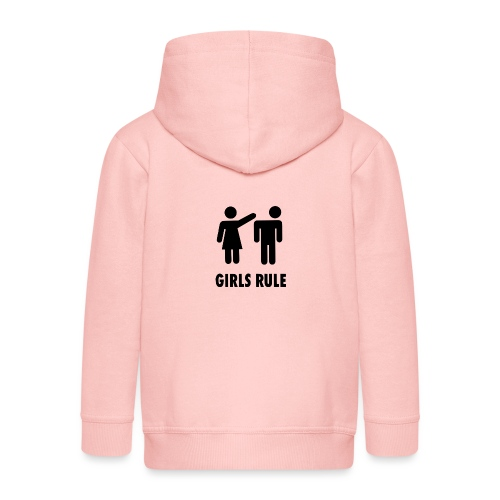 Girl rule - Premium Barne-hettejakke