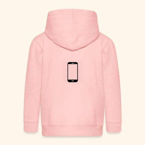 Phone clipart - Kids' Premium Zip Hoodie