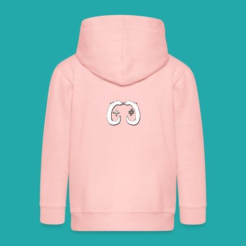 Crowd Control Logo - Kids' Premium Hooded Jacket
