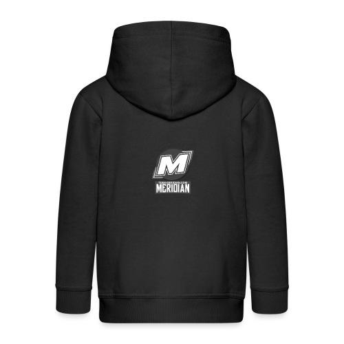 Meridian merch - Kinder Premium Kapuzenjacke