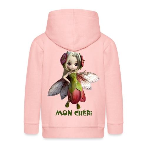 Mon Cheri 2 - Fairy - Kinder Premium Kapuzenjacke