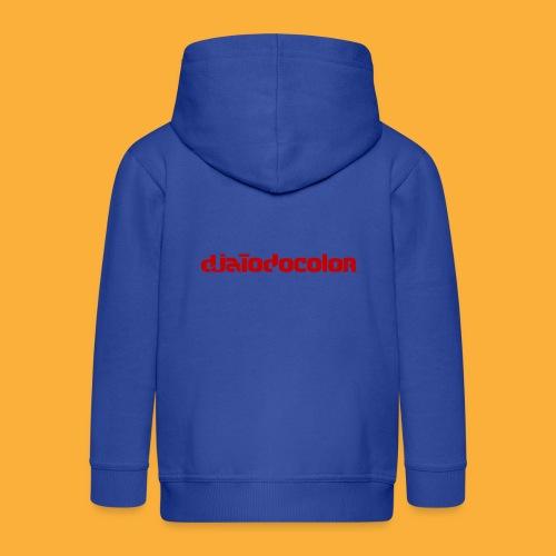 DJATODOCOLOR LOGO ROJO - Chaqueta con capucha premium niño
