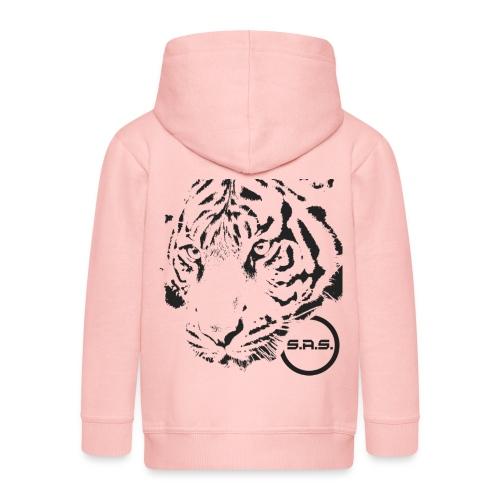 tiger png - Kinderen Premium jas met capuchon