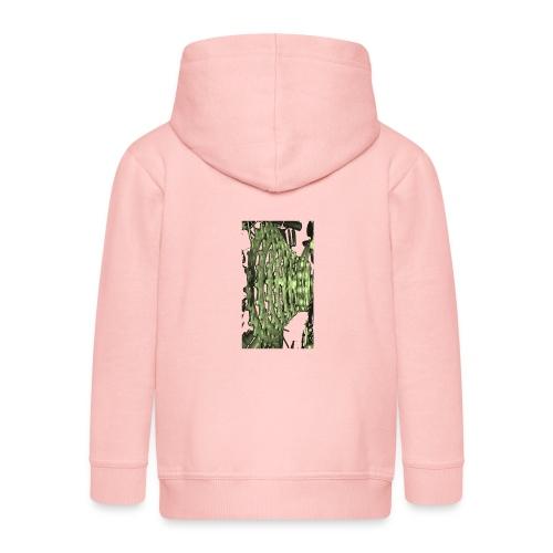cluster_pale_green_copy - Kids' Premium Zip Hoodie