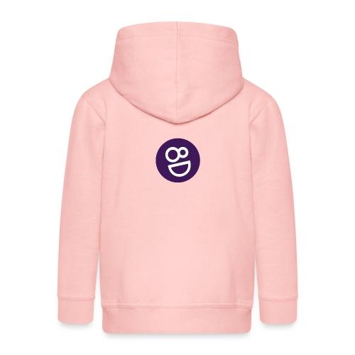 logo 8d - Kinderen Premium jas met capuchon
