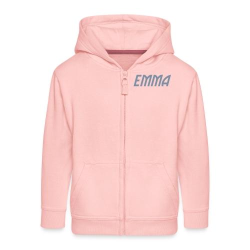 emma - Felpa con zip Premium per bambini